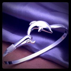 Dolphin bracelet.
